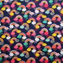 Tissu patchwork Rainbow