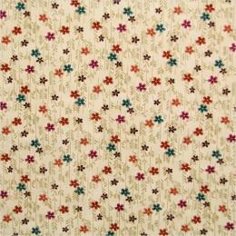 TIssu patchwork Flowers