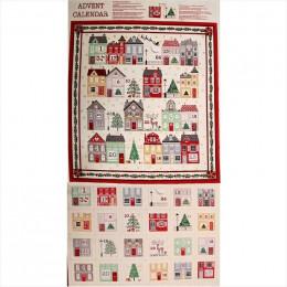 Tissu Noël : Calendrier de l'Avent à confectionner