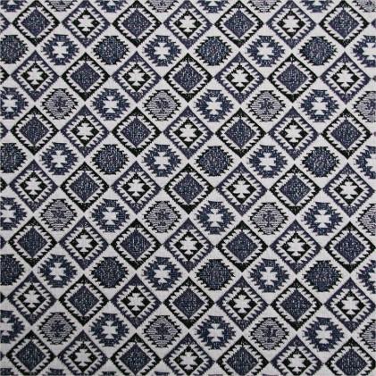 Tissu maille tricot Kily Bleu
