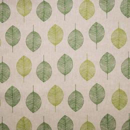 Tissu lin Oeko-Tex Leaves