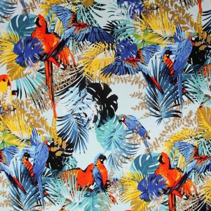 Tissu jersey Tropikal Multicolore