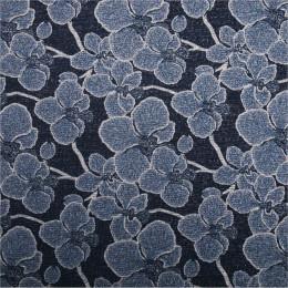 Tissu jersey effet maille Flora