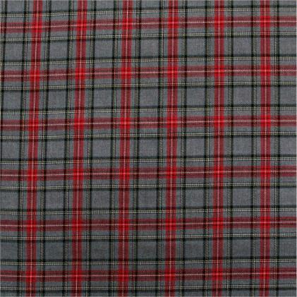 Tissu écossais Douglas   Gris Gris