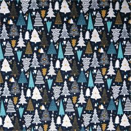 Tissu coton Noël Féerie