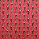 Tissu coton imprimé Tucana  Rose
