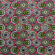 Tissu coton imprimé Soweto  Rose fuchsia