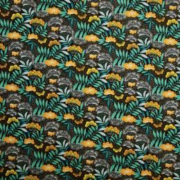 Tissu coton imprimé Oeko-Tex Nagoya