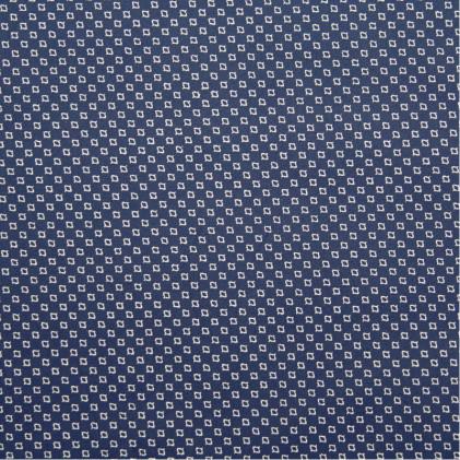 Tissu coton extensible Billy  Bleu