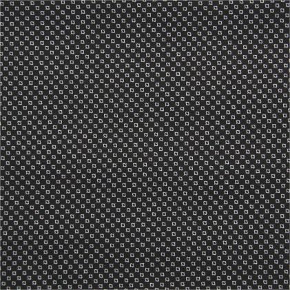 Tissu coton extensible Billy  Noir