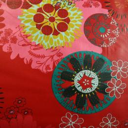 Tissu coton enduit Oeko-Tex Artificia