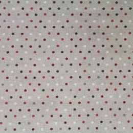 Tissu coton enduit Confettis