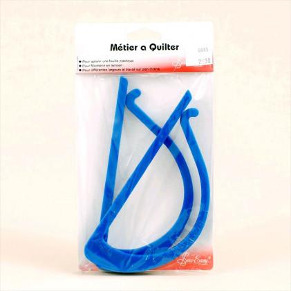 Métier à Quilter Bleu