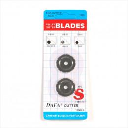 Lames de cuter perforantes 28 mm