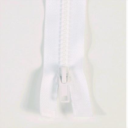 Fermeture injectée n°5 séparable 80 cm Blanc