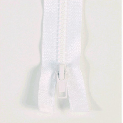 Fermeture injectée n°5 séparable 50 Blanc