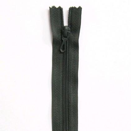 Fermeture Eclair nylon non séparable 50 cm  Col. 768 Vert treillis