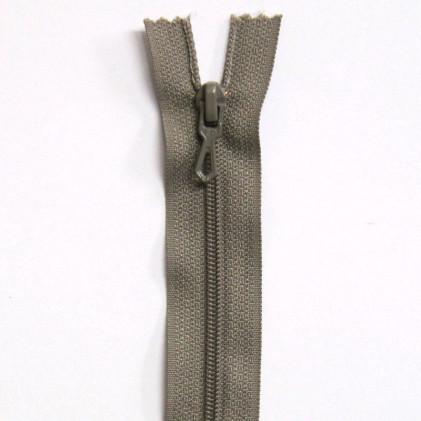 Fermeture Eclair nylon non séparable 50 cm  Col. 925 Grège