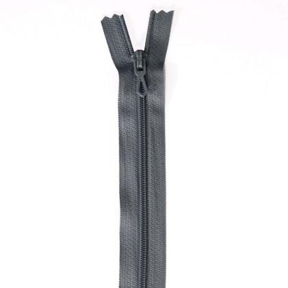 Fermeture Eclair nylon non séparable 50 cm  Col. 440 Gris