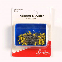 Epingles à quilter extra longues