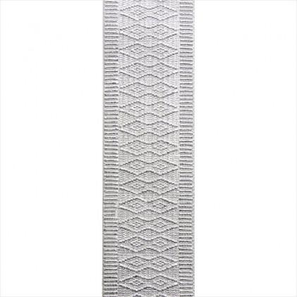 Elastique à ceinture fantaisie 48 mm Gris argent