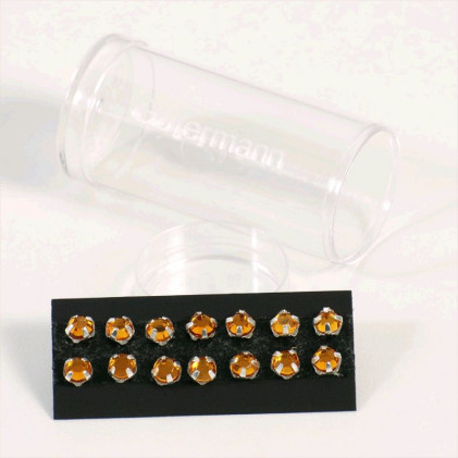 Cristaux à coudre 5 mm Orange