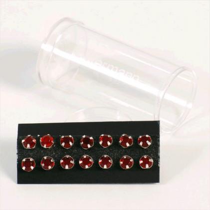 Cristaux à coudre 5 mm Rouge