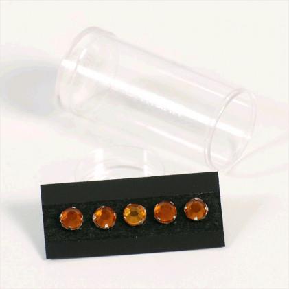 Cristaux à coudre  7 mm Orange