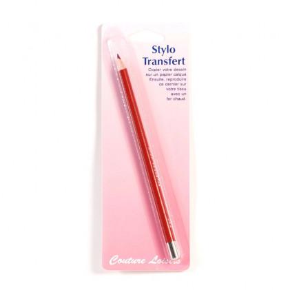 Crayon Transfert Rouge