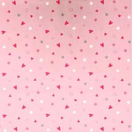 Tissu coton imprimé Juju