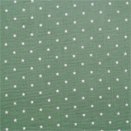 Tissu double gaze de coton Oeko-Tex Starly