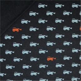 Tissu jersey Oeko-Tex Tracteurs