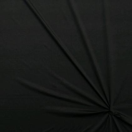 Tissu jersey milano uni Prestige  Noir