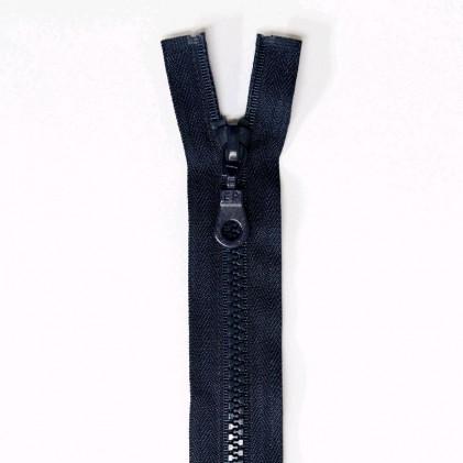 Fermeture Eclair plastique séparable 120 CM Bleu marine