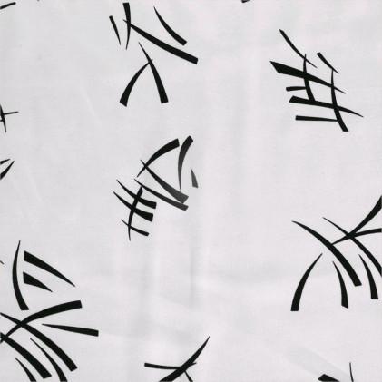 Tissu déguisement Scapin Blanc