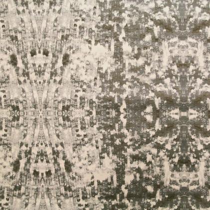 Tissu imprimé Matrix Vert kaki