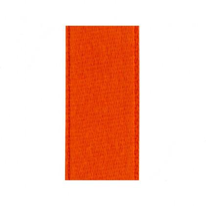 Ruban satin 25 mm   . Orange