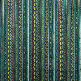 Tissu coton imprimé Maya