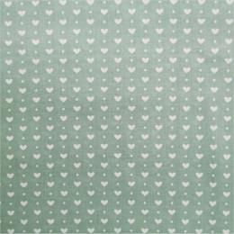 Tissu coton imprimé Coeurs