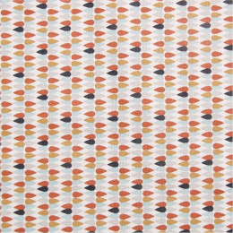 Tissu coton imprimé Plima
