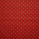 Tissu coton imprimé Doucet  Rouge