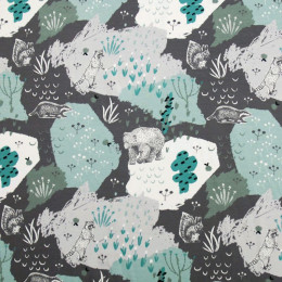Tissu jersey Oeko-Tex Animals