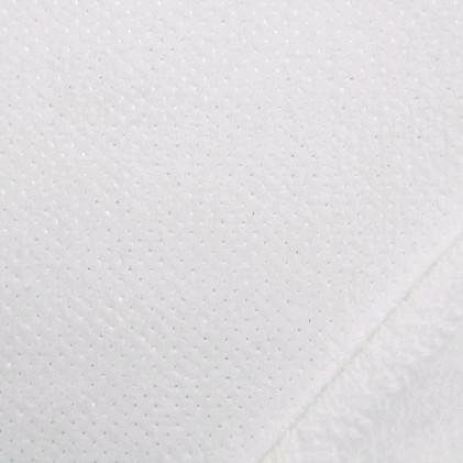 Tissu doudou Minkee Poxy Blanc / Argent