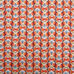 Tissu coton imprimé Oeko-Tex Donna