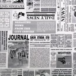 Tissu imprimé Oeko-Tex Newspaper