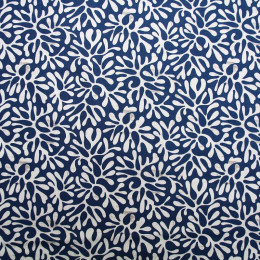 Tissu coton imprimé Oeko-Tex Atlantik