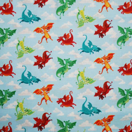 Tissu patchwork dragonheart
