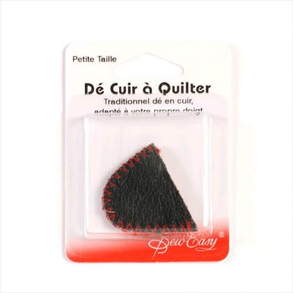 Dé cuir spécial quilting Noir