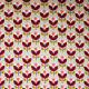 Tissu coton œko-tex Tulipes