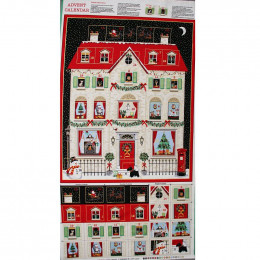 Tuissu Noël : Calendrier de l'Avent à confectionner
